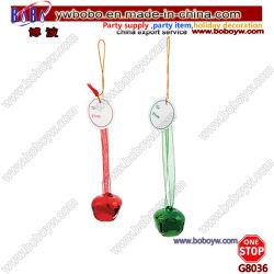 La novedad de Navidad Cascabel etiquetas de productos de regalo de Navidad (G8036)