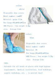 Osm 013 schützender chirurgischer/medizinischer/wasserdichter/freier PP+PE nichtgewebter Wegwerf-pp. Schuh-Deckel für Krankenhaus/Labor/Lebensmittelindustrie