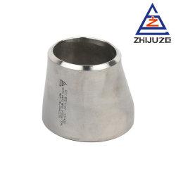 Acier inoxydable ASME B16.9 du raccord de tuyau en acier inoxydable réducteur excentrique