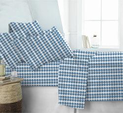 Fabriqué en Chine meilleur ensemble de literie en coton Manufacture tissu imprimé Home Textile drap de lit Linge de lit