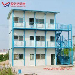 Qualitäts-Stahlkonstruktion-modulares Haus-wasserdichtes und feuerfestes vorfabriziertes Haus-vorfabriziertes Gebäude-Fertighaus-Haus