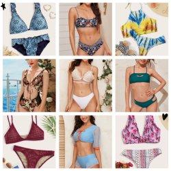 Kleren van de Kwaliteit van de Bikini van de Vrouwen van de voorraad de Sexy Uitstekende aan Lage Prijs