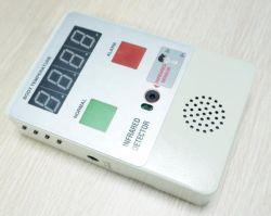 휴대용 자동적인 소리와 빛 경보 IR 체온 검출기