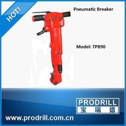 Tpb90 Pavimentación neumática Breaker Jack Hammer para piedra divisor de demolición