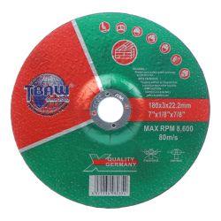 """La Chine usine OEM de haute qualité 7""""180*3,0*22mm disque de meulage de coupe durable pour la pierre dure"""