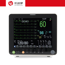12,1 Zoll Pm12f Multi-Parameter Medical Patient Monitor Plastische Produkte für die Chirurgie-Überwachung Diagnose im Krankenhaus verwendet.
