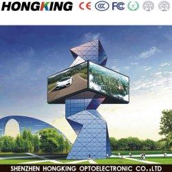 Visualizzazione di LED di pubblicità commerciale di luminosità esterna di P10 7000CD grande
