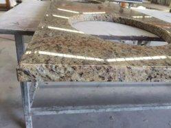 Countertops van het Graniet van Giallo de SierPlakken van de Steen van het Graniet
