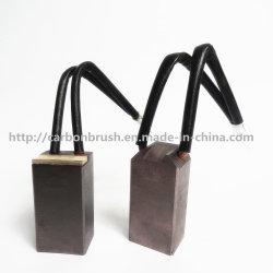 fare la spazzola di carbone personalizzata del metallo di disegno J204 per il motore di industria