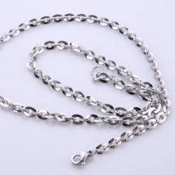 Moderne DIY Schmucksache-Halskette, die Ebene polnische Kette für Fertigkeit konzipieren lässt
