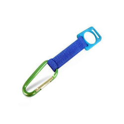 Многофункциональный резинового держателя карабина цепочки ключей короткий шнур
