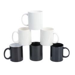 Ceramische Mok van de Koffie van de bevordering 11oz de Duidelijke Witte voor Sublimatie