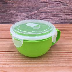 Grüner Haushalts-Plastikmikrowellen-Nahrung Bowl-Pb5005
