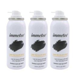 La couleur des cheveux spray permanent Teinture pour cheveux couvrant