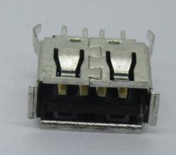 Кабель USB a вертикальный разъем женского пола, очень коротких органа, PBT, черный, альтернативой для Molex в