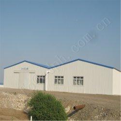 Resistência do terremoto de galvanização expansível Estrutura de aço qualificada prefabricados Depósito e Prédio de oficina