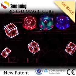 El color del LED Luz Cubo Mágico telón de fondo de la luz de la decoración de la luz de techo