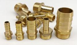 Laiton/cuivre mixte Quadruple conjointe de remplissage/Composant pneumatique raccords/Verrouiller Master joint/Clap de cuivre/verrouillage mixte de la trachée Master PU tuyau joint en cuivre