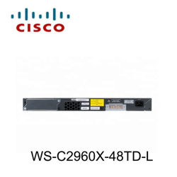 Nettoyer Cisco WS-C2960X-48TD-L Commutateur Ethernet Gigabit géré L2 48 ports SFP+ 2x 10g les commutateurs LAN Base 1000Mbits/s