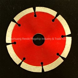 van 108 Blad van de Zaag van de Diamant van het Type van de mm- Diameter Segment het Droge Scherpe voor Alle Stenen