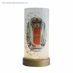اللوحة اليدوية عيد الميلاد أضواء على الزجاج 15 أضواء على 15LED 3 بطاريات AA بيع ساخن