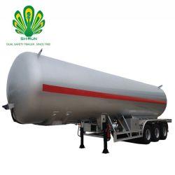 중국 Shengrun 3 차축 58.8cbm LPG 가스 수송 유조 트럭 트레일러 유조선
