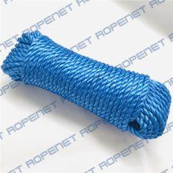 3 ストランドツイストプラスチックロープ /PP 材料ポリプロピレン製分割フィルムコード