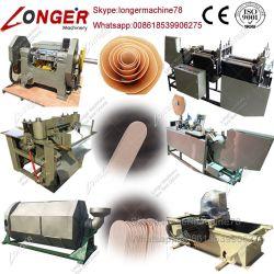 Hölzerne Eiscreme-Stock-Stab-Maschinen-hölzerne Zunge-Senker-Maschine