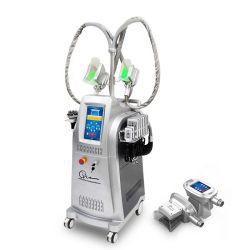 4 Ultrasone klank van de Apparatuur van de Cavitatie van handvatten rf Cryolipolysis de Vacuüm