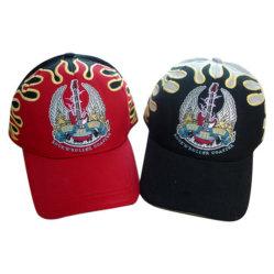 A tubulação de sanduíche de algodão escovado pesados Custom Design chama desporto Golf Hat