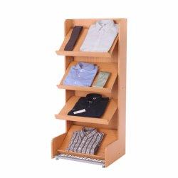 La dernière conception du stand de présentation de livres d'atterrissage en bois