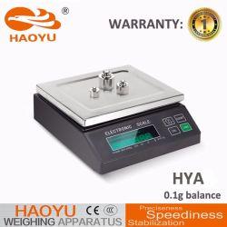 5000g Balanza de laboratorio digital de alta precisión de China de fábrica Haoyu