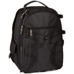 Рюкзак для зеркальных фотокамер и цифровых зеркальных камер и аксессуары - черный