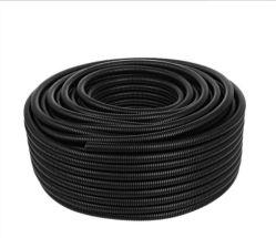 Soufflets en plastique ignifuge en nylon imperméable Câble flexible de threading conduit de protection