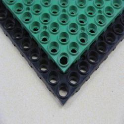 15 mm noir mat de plein air creux