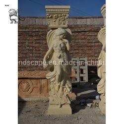 中国の製造の安い価格の大理石の柱Mcc01