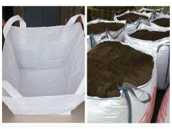 Hersteller-Sandsack-Aufbau-Beutel-Speicher-Sand häuft Baumaterial-Baumaterial-Muttererde-Schmutz-Rückstand-Block an