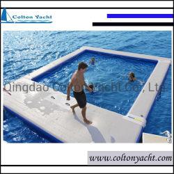 良質の低下のステッチファブリックによってカスタマイズされる膨脹可能な浮遊Airmat