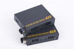 Convertidor del Vídeo de la Fibra de 10g 4k HDMI