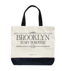 Eco Friendly sac fourre-tout en coton biologique couleur noire avec votre logo