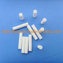 Isolateur de thermocouple de l'alumine Tube de protection de la céramique, tube de protection de thermocouple 99 alumine tube en céramique