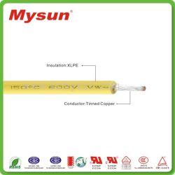 Résistantes à la chaleur sans halogène XLPE câble cuivre électrique isolé UL3321