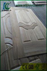 Porta de madeira /Porta folheados/Porta Interior com pele de nogueira/Teca