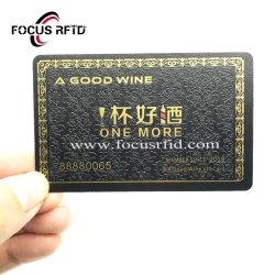 De Plastic Grootte van uitstekende kwaliteit van het Adreskaartje ISO met Volledige Kleurendruk