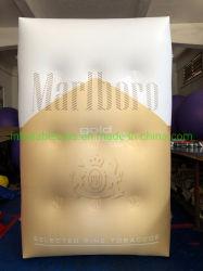 Aufblasbarer Cigaret Fall, aufblasbare Reklameanzeige-Luft-Zigaretten-Ballon-Replik