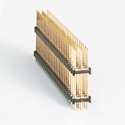 様式1.27mm/2.0mm/2.54mm女性ヘッダの/Pinカスタマイズされたヘッダの単一か二重列のまっすぐなか直角/SMTのタイプコネクター
