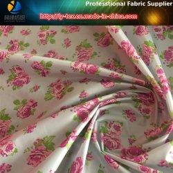 Hellster weicher gedrucktes gesponnenes Gewebe des Polyester-400t Taft für unten Umhüllung