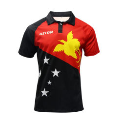 Healong Meistverkaufte Digital Bedruckte Ausgezeichnete Rugby-Jersey