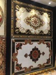 Tapete muçulmano decorativo dourado da porcelana agradável do projeto com luz do fulgor