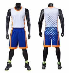 製造業者によってカスタマイズされるデザインあなた自身のバスケットボールキットの安いオンラインバスケットボールチームジャージーのバスケットボールのユニフォーム